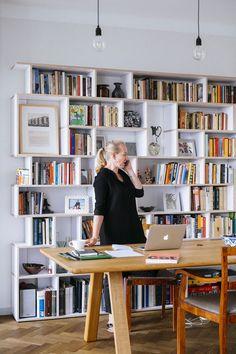 Designer, custom Ivy Shelf. Shelving your way.