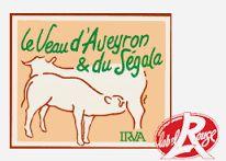 Label viande de veau Aveyron