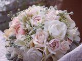 Deko-Objekte - Shabby chic Hortensias, Roses and Moss Wreath - ein Designerstück von PREISS-DECOR bei DaWanda