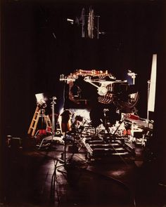 The filming of the Enterprise (Star Trek The Motion Picture)