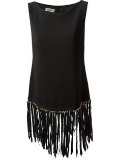 MOSCHINO Fringed Top