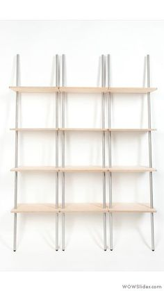 triple side Leaning Shelf, Storage Ideas, Bookcase, Shelves, Cool Stuff, Wall, Room, Home Decor, Bedroom