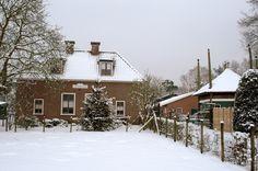 Boerderij Vosseveld in de winter