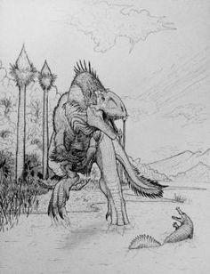 Gigantosaurs  by TheGreatestLoverArt