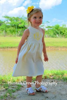 How precious would it be if all the girls had these dresses for Easter!! Girls Seersucker Assymetrical Easter Spring by PrettyLittleRose, $30.00