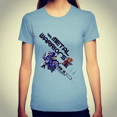 On instagram by martymillar #retrogames #microhobbit (o) http://ift.tt/1OMYpDD Warriors #metalwarriors #konami #retro #retrogamer #slippytee #geek #nerd #clothing #videogames #pixelart #redbubble #society6 #teepublic #8bit #16bit #arcade #gaming #art #design #creative  #girlgamers #fashion #apparel