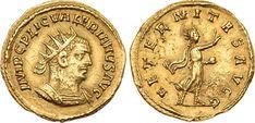 Valerian I. Gold Aureus (5.05 g), Roman emperor, AD 253-260, and opponent of Shapur I - Price Estimate: $8000 - $0