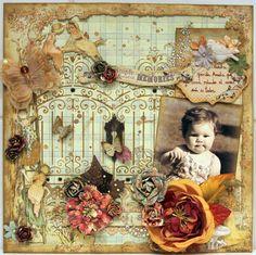 Gorgeous, as always, from Luzma! SIMPLE SWEET MEMORIES - Scrapbook.com
