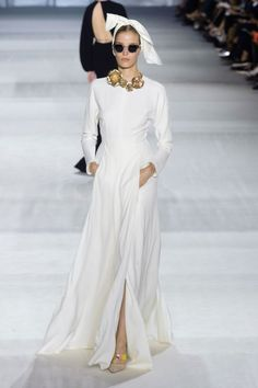 Pajama Dressing Gets the Couture Treatment at Giambattista Valli - Fashionista