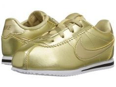 Nike Kids Cortez SE (Infant/Toddler) (Metallic Gold Star/Metallic Gold/Metallic Gold Star) Girls Shoes