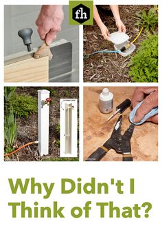 These ingenious tips, tricks and solutions to common problems are simple, smart and straightforward. Hacks Diy, Cleaning Hacks, Patio Yard Ideas, Home Projects, Projects To Try, House Hacks, Bathroom Inspo, Home Repairs, Landscaping Tips