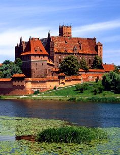 The Castle of the Teutonic Order in Malbork, Poland.