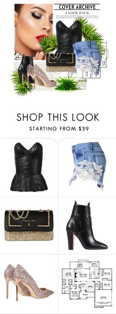 """""""My Template Fill"""" by littlemaya5 ❤ liked on Polyvore featuring Fleur du Mal, Patrizia Pepe, Christian Louboutin and Jimmy Choo"""