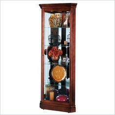Howard Miller Lynwood Corner Display Curio Cabinet - 680345 - Lowest price online on all Howard Miller Lynwood Corner Display Curio Cabinet - 680345