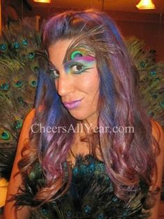 Peacock- eyes... so creative and amazing.
