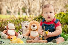 acompanhamento fotografico bebe menino safari