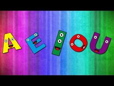 As Vogais - AEIOU - Alfabetização Divertida - YouTube