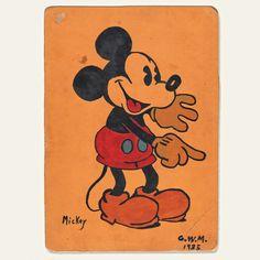 1935 Mickey Mouse Illustration I OldBrochures.com