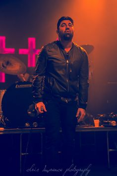 Chino Moreno Crosses | Concert Imagery: Crosses at The Crofoot in Pontiac, Michigan on 13-Jan ...