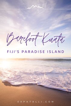 Barefoot Kuata is one of the best islands to visit in Fiji. Here's why this no-frills eco resort is a must-visit destination for a honeymoon, solo trip or family vacation. Fiji Travel, Solo Travel, Beach Travel, Asia Travel, Fly To Fiji, Visit Fiji, Fiji Beach, Honeymoon Spots, Water Activities