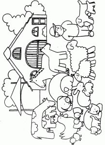 Crafts,Actvities and Worksheets for Preschool,Toddler and Kindergarten.Lots of worksheets and coloring pages. Farm Animals Preschool, Farm Animal Crafts, Farm Crafts, Preschool Crafts, Farm Animal Coloring Pages, Colouring Pages, Coloring Books, Farm Unit, Farm Activities