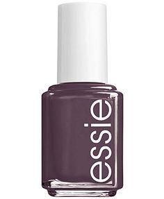 essie nail color, smokin hot (purple)