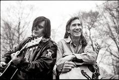 Townes Van Zandt and Steve Earle