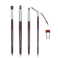 Makeup Brush Set: Windows Of The Soul - 5 Piece for Eyes Affordable Makeup Brushes, Eye Brushes, Brush Sets, Liquid Liner, How To Apply Makeup, Makeup Brush Set, Brush Cleaner, Makeup Yourself, Concealer