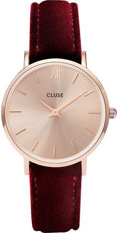CLUSE CL30042 Minuit velvet watch