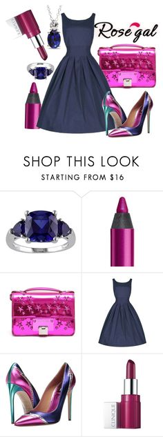 """""""ROSEGAL"""" by emmmy88 ❤ liked on Polyvore featuring Urban Decay, Jimmy Choo, Dsquared2, Clinique and Ice"""