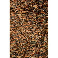 @Overstock - Add a fashion-forward look to any bedroom or guest room with this polyester area shag rug. This hand-tufted rug features a variety of autumnal shades that will complement all your wood furniture. You will love its plush, soft texture and unique look.http://www.overstock.com/Home-Garden/Hand-tufted-Tilton-Brown-Burnt-Orange-Shag-Rug-5-x-76/6715756/product.html?CID=214117 $287.29