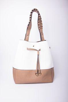 Drawstring Satchel Bag