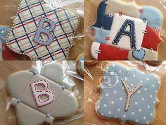 Baby Cookies | www.sweetambs.com/news/baby-shower-cookies/ | Amber Spiegel | Flickr
