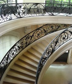 Paris, Petit Palais Staircase...