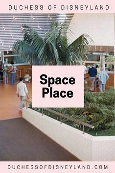 Space Place, Tomorrowland, Disneyland Disneyland Tomorrowland, Disneyland History, Space Place, Explore, Places, Lugares, Exploring