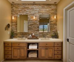 5 Lovely Bathroom Accent Wall Design Ideas Bathroom accent wall
