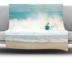 Ocean Fleece Throw Blanket