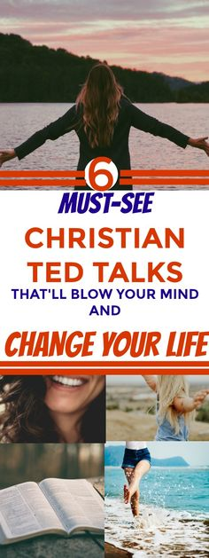 Totally LOVED these 6 Christian Ted-Talks! They are SO amazing. Totally recommended for anyone who wants to be a successful Christian woman! WOW. Definitely pinning. #Tedtalks #inspiration #success #LOVE #GOALS #quotes