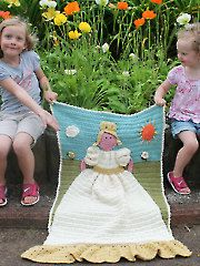 Crochet Princess Quilt - Electronic Download
