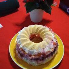 Σαλάτα Χριστουγεννιάτικη σαν τούρτα συνταγή από juligram - Cookpad Doughnut, Muffin, Breakfast, Desserts, Food, Morning Coffee, Tailgate Desserts, Deserts, Essen