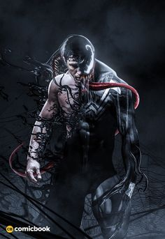 Fierce Fan Art Shows Us How Venom May Look On Film