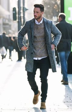 Clothing 5 Cool winter outfits for men. ClothingSource : 5 Cool winter outfits for men. Cool Winter, Casual Winter, Men Casual, Smart Casual, Casual Wear, Casual Attire, Best Winter Outfits Men, Winter Fashion Outfits, Mens Autumn Fashion