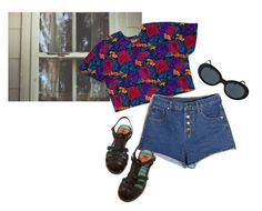 """""""Rosa"""" by junk-food ❤ liked on Polyvore featuring American Apparel"""