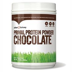 Primal Protein (Grass Fed Whey) (Chocolate): Primal Whey Protein is a delicious! (Not To Sweet) It can be taken before meals or between meals to help curb hunger and boost energy levels Best Fat Burning Pills, Fat Burning Drinks, Julian Bakery, Amino Acid Supplements, Vitamins For Energy, Gluten Free Blueberry, Raw Milk, Whey Protein Powder, Weight Loss Shakes
