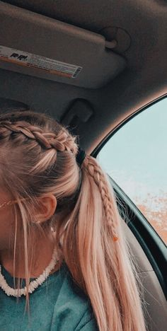 Braided Ponytail Hairstyles, Pretty Hairstyles, Hairstyle Ideas, Teen Hairstyles, Cute School Hairstyles, Wedding Hairstyles, Braid In Ponytail, Athletic Hairstyles, Volleyball Hairstyles