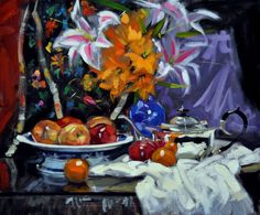 jack morrocco   Zoom Flower Art, Galleries, Paintings, Floral, Artist, Flowers, Art Floral, Paint, Painting Art