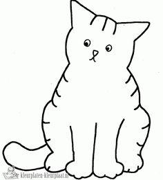 Jet Boeke- Pleisters plakken. Deze kleurplaat van Dikkie Dik kun je niet alleen kleuren, je kunt er ook pleisters op plakken! Cat Crafts, Arts And Crafts, Coloring For Kids, Coloring Pages, Class Pet, Cat Birthday, Window Art, Preschool Art, Free Prints