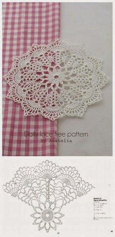 Small doily for texture