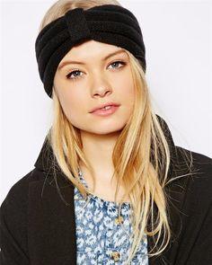 NEW Style knit Headband Beanie Ear Warmer Knitted headwrap turban bow women headwrap crochet hairbands