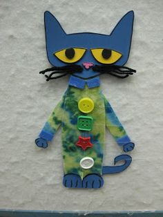 Read It Again!: Flannel Friday: Pete the Cat and his popping buttons. This flannel idea makes Pete's buttons actually pop off with clever use of fishing wire. Flannel Board Stories, Felt Board Stories, Felt Stories, Flannel Boards, Pete The Cats, Cat Activity, Flannel Friday, Toddler Fun, Toddler Storytime
